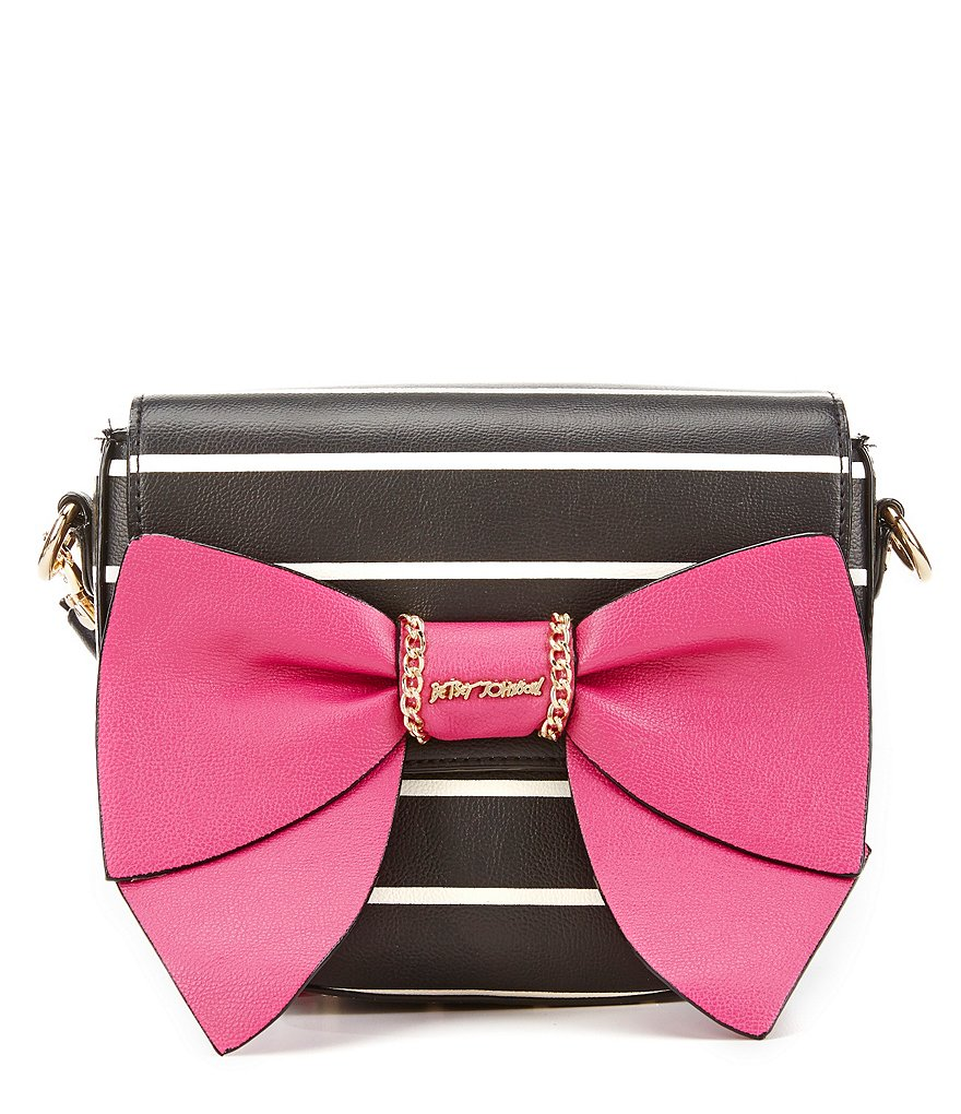 Betsey Johnson Oh Bow You Didn´t Saddle Bag