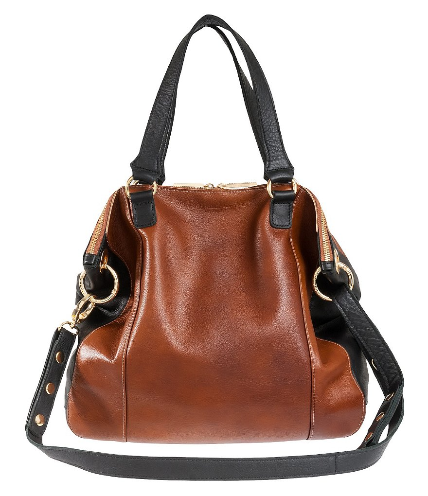 Hammitt Daniel Colorblock Satchel