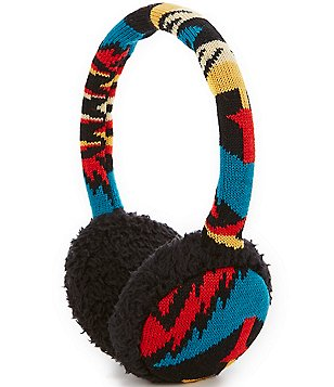 Pendleton Fleece-Lined Wool Ear Muffs