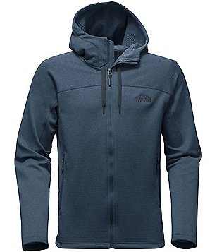 The North Face Needit Fleece Elbow-Patch Full-Zip Hoodie
