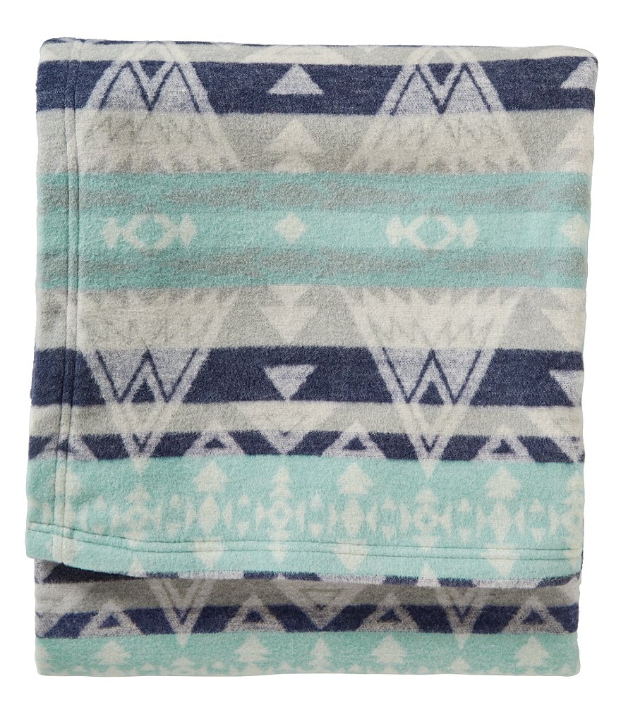 Pendleton High Peaks Jacquard Cotton Throw Blanket