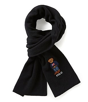Polo Ralph Lauren Polo Bear Cardigan Ribbed Scarf