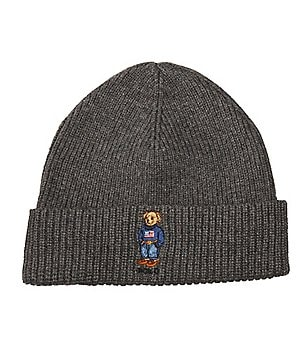 Polo Ralph Lauren Polo Bear Cardigan Ribbed Cuffed Hat