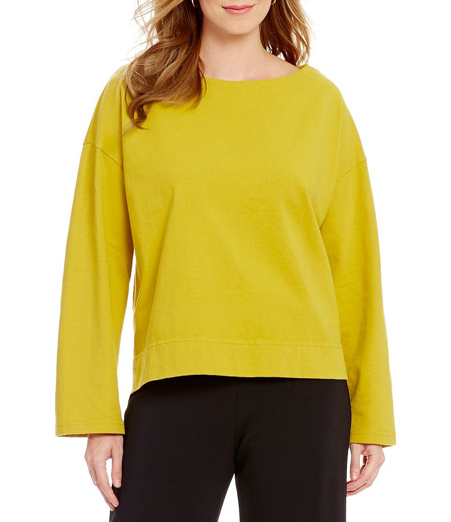 Bryn Walker Spa Cotton Jersey Long Sleeve Shirt