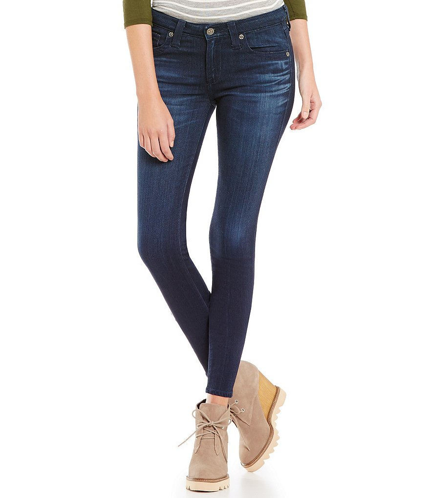 Big Star Alex Tonal Stitching Skinny Jeans