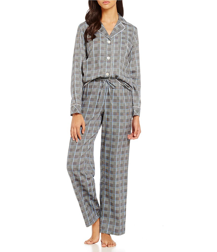 Lauren Ralph Lauren Striped Classic Pajamas