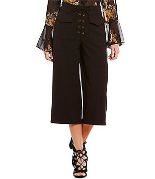 Coco + Jaimeson Lace-Up Culottes