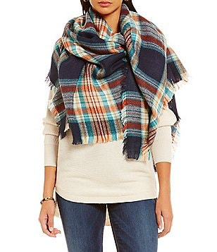 Fraas Classic Plaid Blanket Wrap