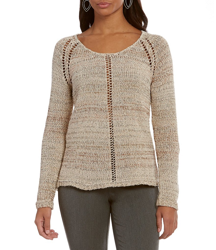 Sigrid Olsen Signature Textured Pullover Sweater
