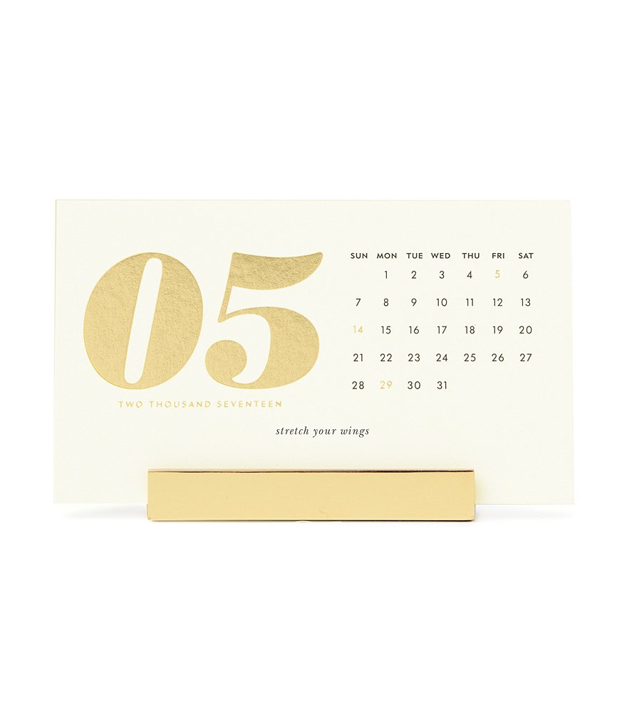 kate spade new york 2017 Desktop Calendar