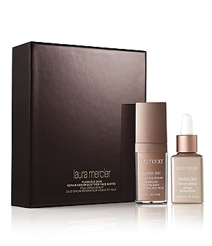 Laura Mercier Flawless Skin Repair Serum Duet for Face & Eyes