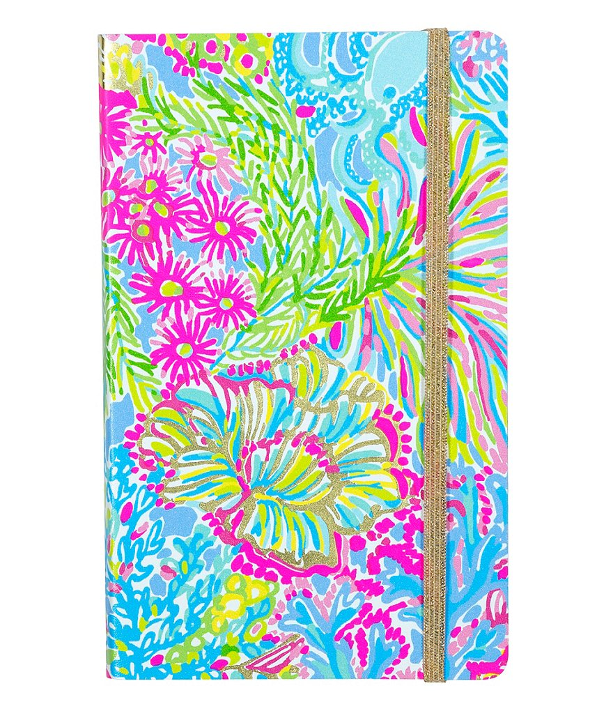 Lilly Pulitzer Lovers Coral Journal