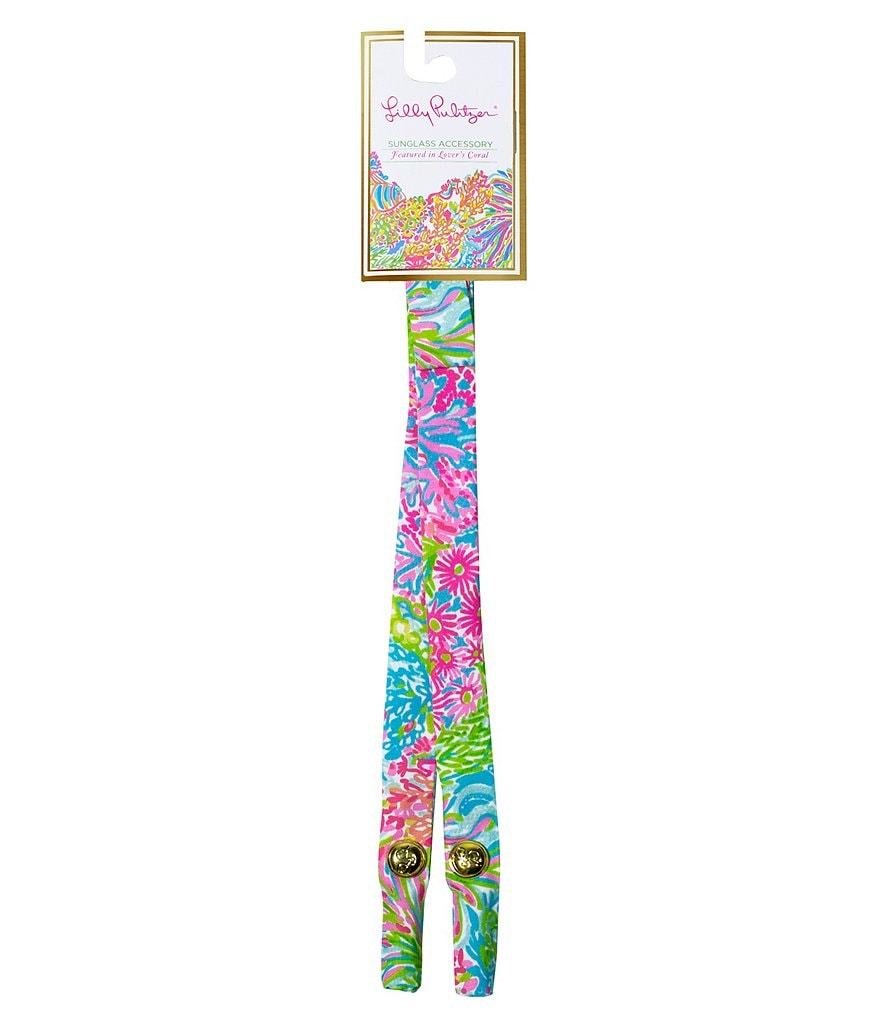 Lilly Pulitzer Lovers Coral Sunglass Strap