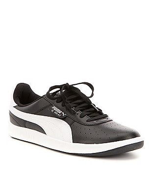 Puma Men´s G. Vilas 2 Textile Perforated Two-Toned Lace-Up Sneakers
