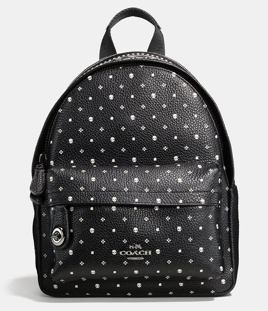 COACH MINI CAMPUS BACKPACK IN BANDANA PRINTED LEATHER