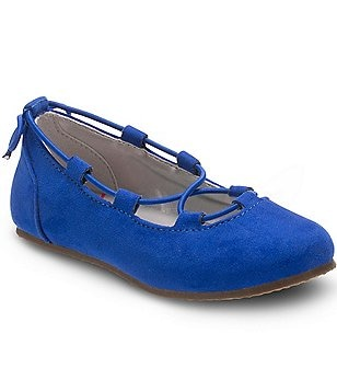 Stride Rite Girl´s Julia Slip On Elastic Lace Ballet Flats