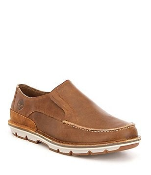Timberland Men´s Coltin Premium Water Resistant Leather Moc-Toe Slip-Ons