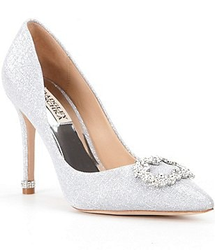 Badgley Mischka Nichole II Pointed Toe Pumps