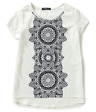 Takara Big Girls 7-16 Graphic-Print Short-Sleeve Tee