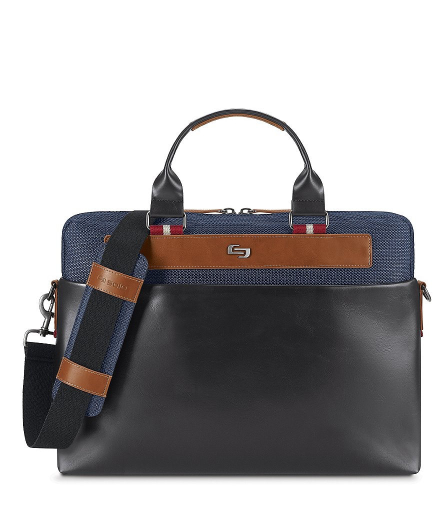 Solo Fulton Slim Laptop Briefcase
