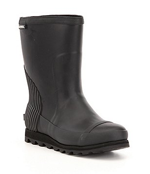 Sorel Women´s Joan Pull On Waterproof Rubber Rain Short Boots