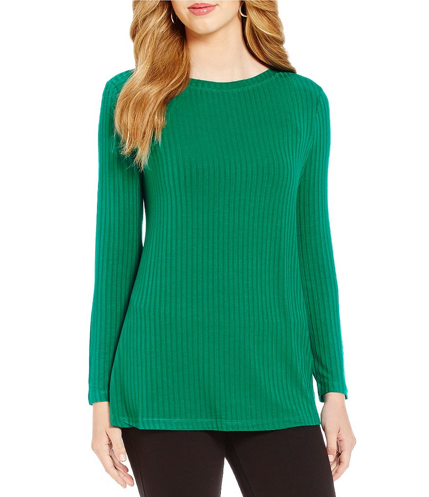 Westbound Long Sleeve Bateau Neck Top