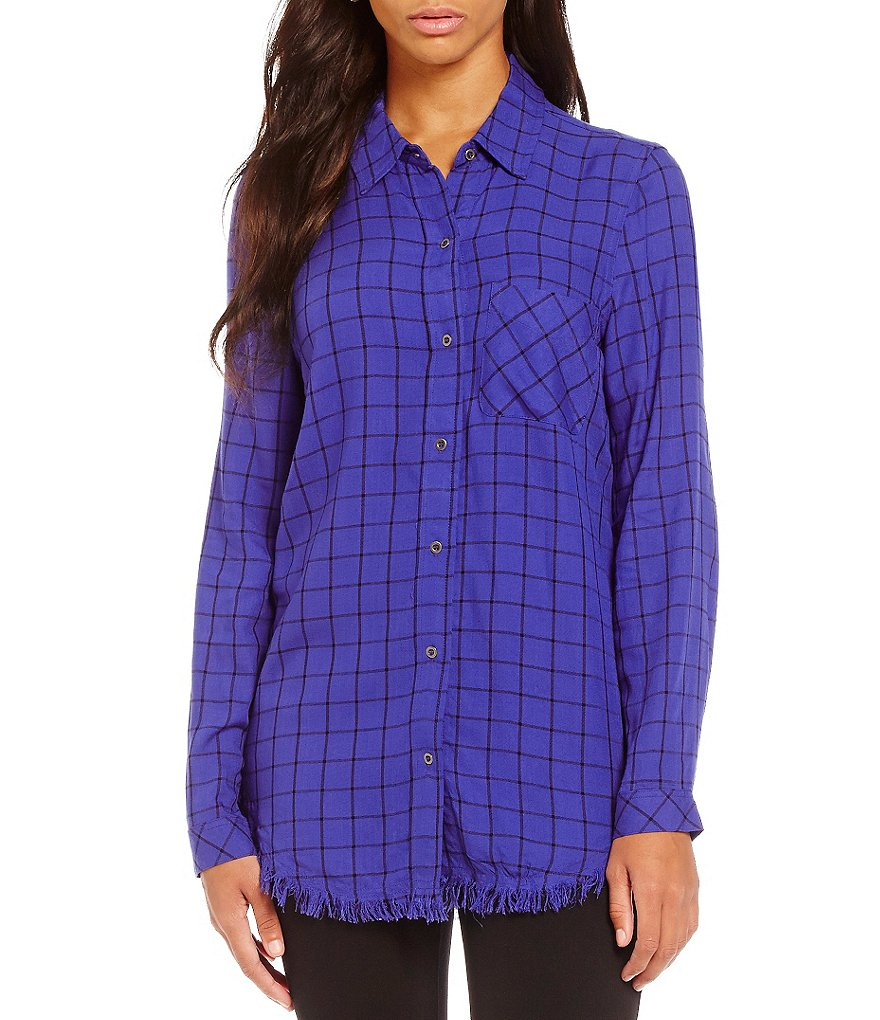 Westbound Fringe Button-up Shirt