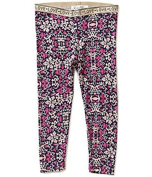 Jessica Simpson Little Girls 2T-6X Glimmer Novelty Leggings