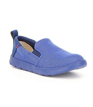 UGG® Boys Gunther Breathable Textile Slip On Sneakers