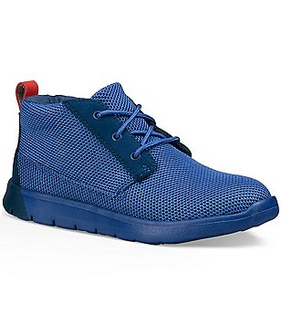 UGG® Boy´s Canoe Breathable Textile Lace Up Chukka Sneakers