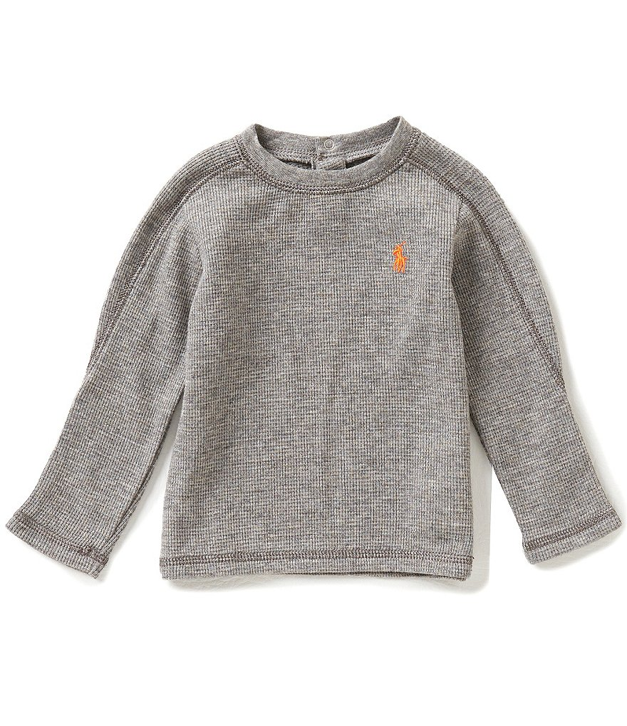 Ralph Lauren Childrenswear Baby Boys 3-24 Months Long-Sleeve Thermal Tee