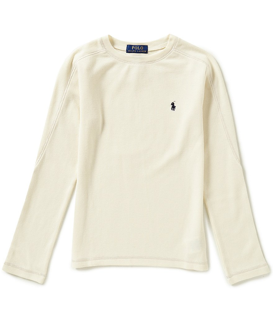 Ralph Lauren Childrenswear Big Boys 8-20 Long-Sleeve Thermal Tee