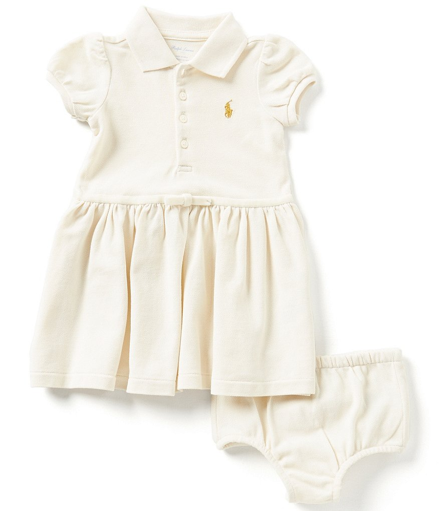 Ralph Lauren Childrenswear Baby Girls 3-24 Months Iconic Mesh Dress