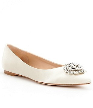 Badgley Mischka Davis Pointed-Toe Flats