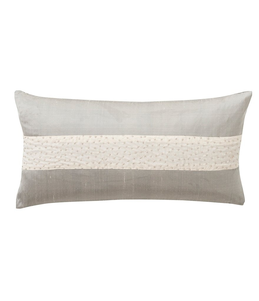 Waterford Aldrich Embroidered French Knot Breakfast Pillow