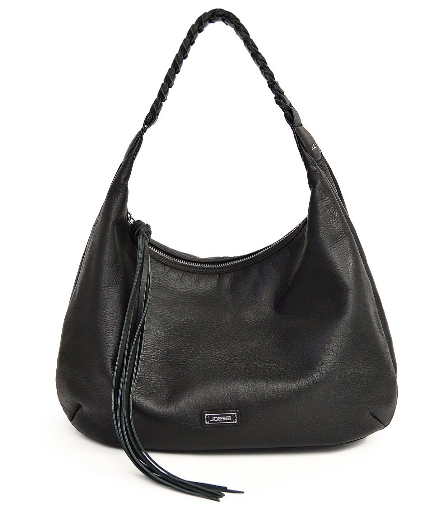 Joe´s Chelsea Braided-Handle Hobo Bag