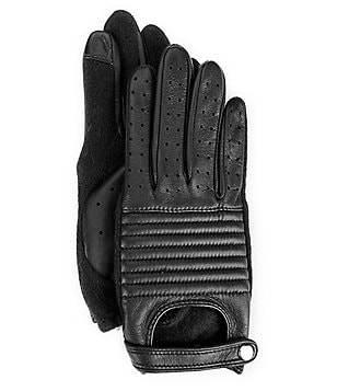 Lauren Ralph Lauren Quilted-Leather Touch-Capable Moto Gloves