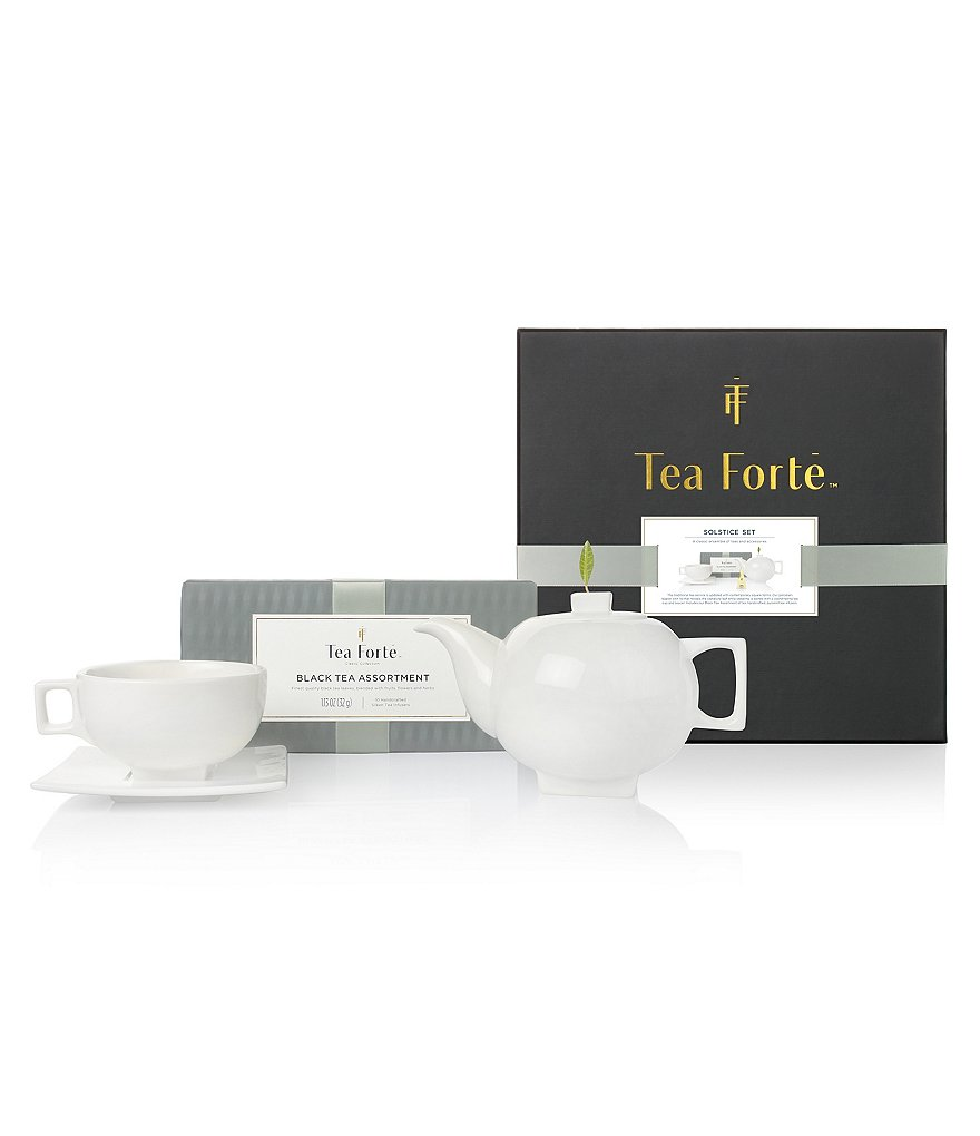 Tea Forte Solstice Ensemble of Teas & Accessories Gift Set