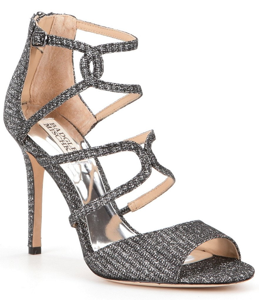 Badgley Mischka Devon Strappy Dress Sandals