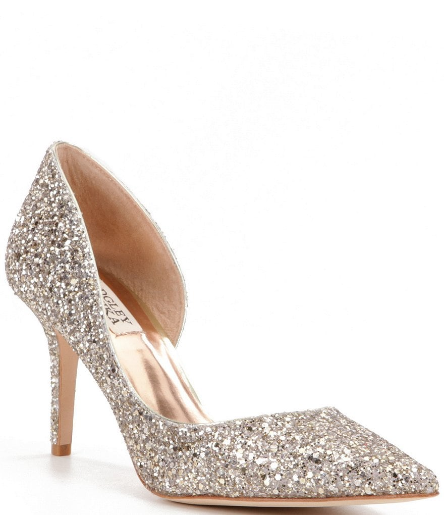 Badgley Mischka Daisy d´Orsay Pumps