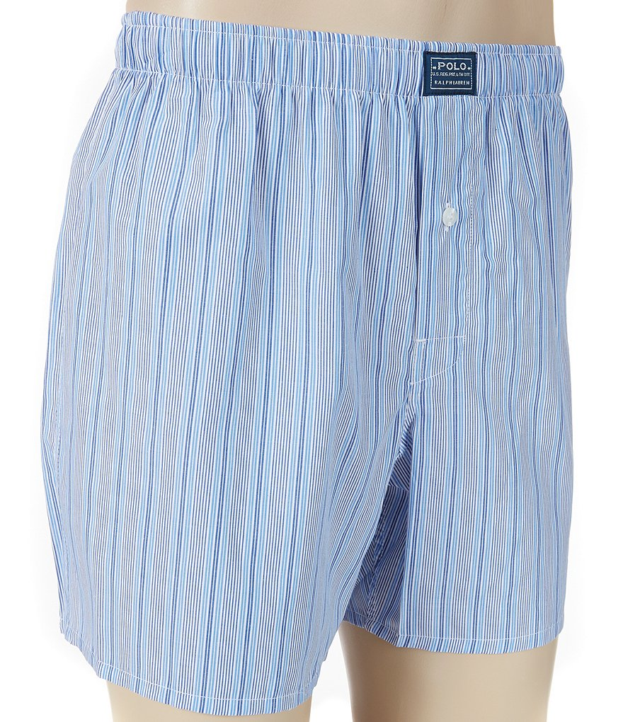 Polo Ralph Lauren Woven Striped Boxers