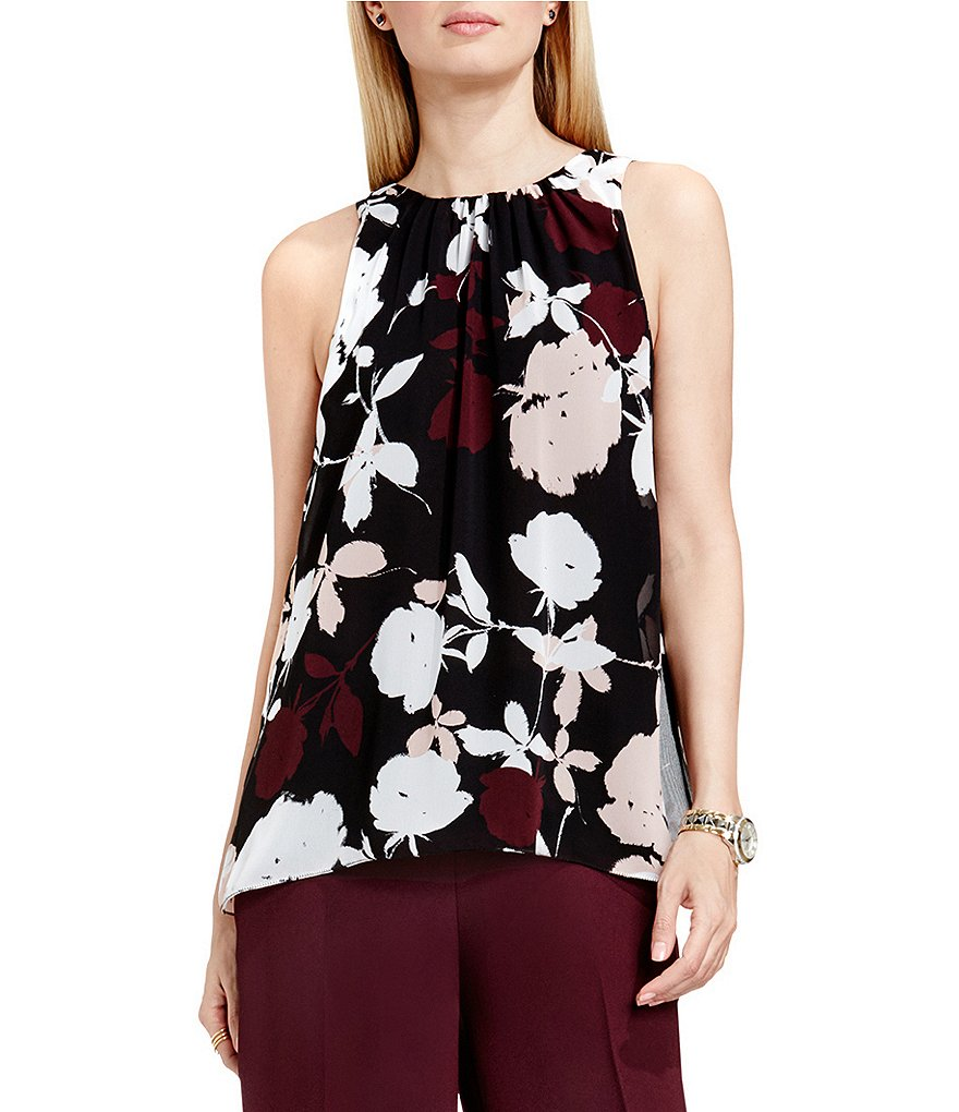 Vince Camuto Chapel Rose Blouse