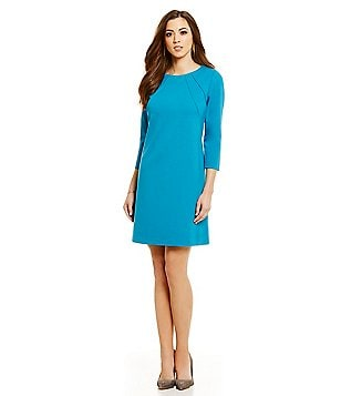 Antonio Melani Montana 3/4 Sleeve Ponte Dress