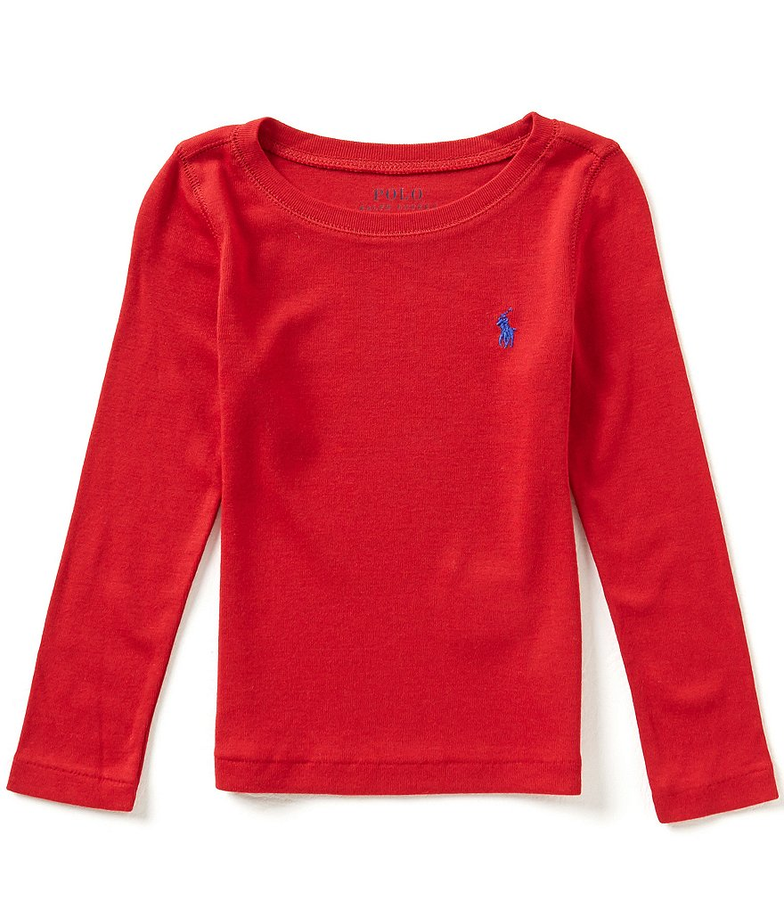 Ralph Lauren Childrenswear Little Girls 2T-6X Long-Sleeve Tee