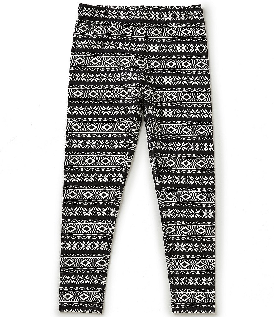 Ralph Lauren Childrenswear Little Girls 2T-6X Fair Isle Leggings