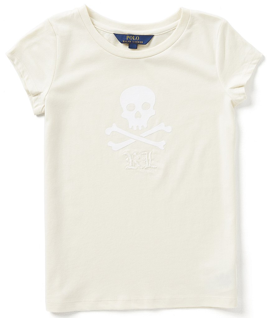 Ralph Lauren Childrenswear Big Girls 7-16 Graphic Short-Sleeve Tee