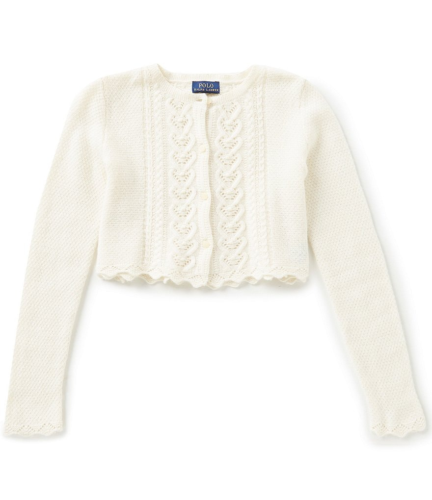 Ralph Lauren Childrenswear Big Girls 7-16 Sweater