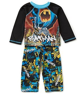 Komar Kids Little Boys 2T-4T Batman Bold Justice Pajama Set