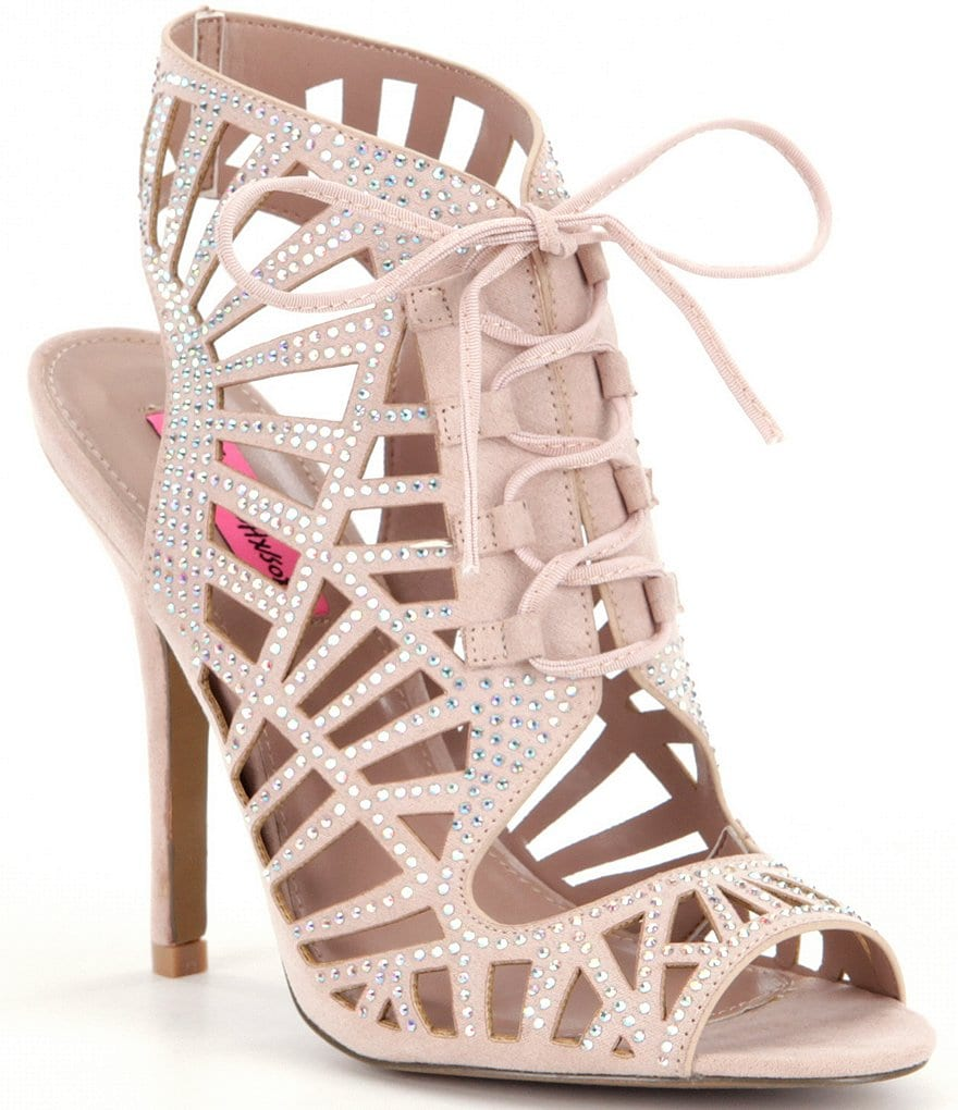 Betsey Johnson Lexxe Ghillie Sandals