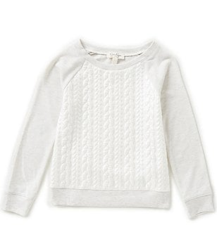 Jessica Simpson Big Girls 7-16 Stellar Pearl Sweater